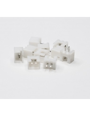 XH2.54 2P Male 10 pack connectors