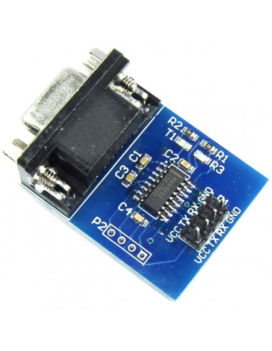 RS232 to TTL Converter (Max232 IC)