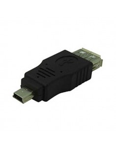 USB v2 A Female to Mini/Male Adapter