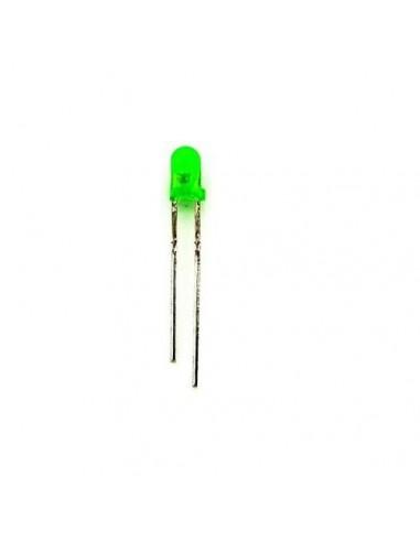 LED 3mm Green (10 Pack)