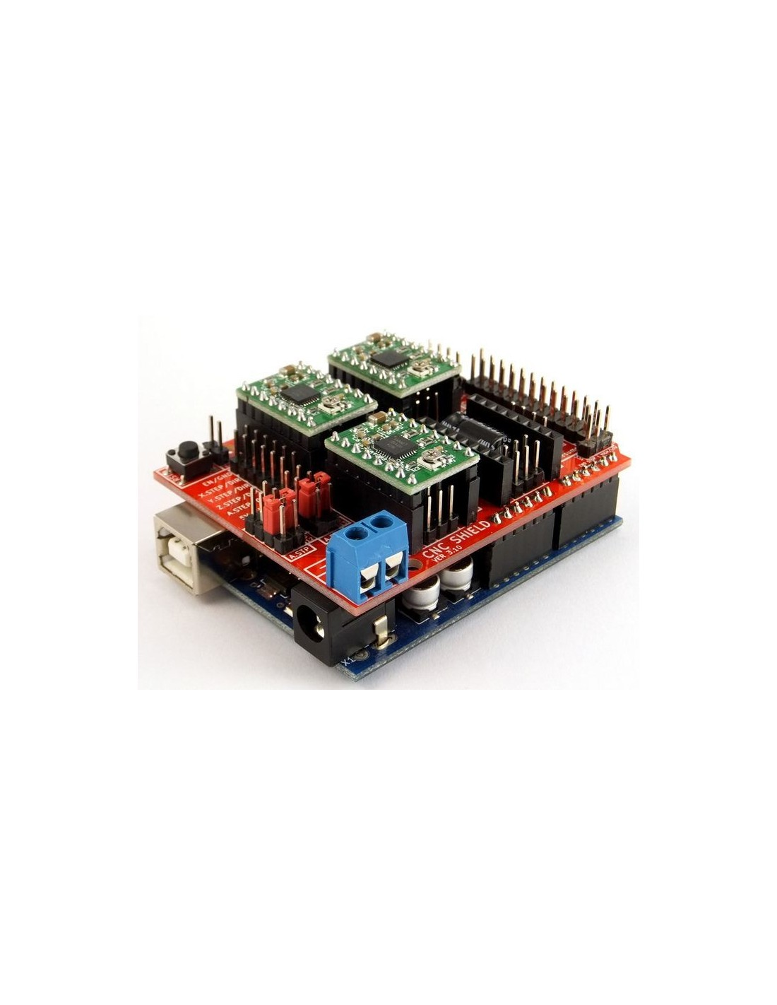 Arduino cnc shield v breakout board netram technologies