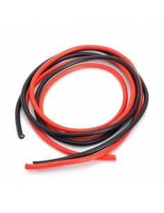 Silicone wire 6mm Black