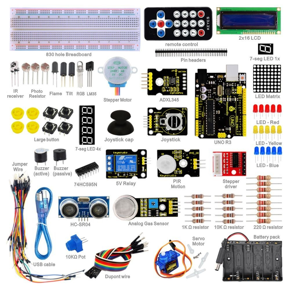Netram Advanced Study Kit for Arduino - Netram Technologies
