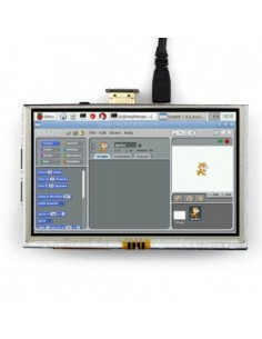 """5"""" HDMI LCD w/Touch Screen for Raspberry Pi"""