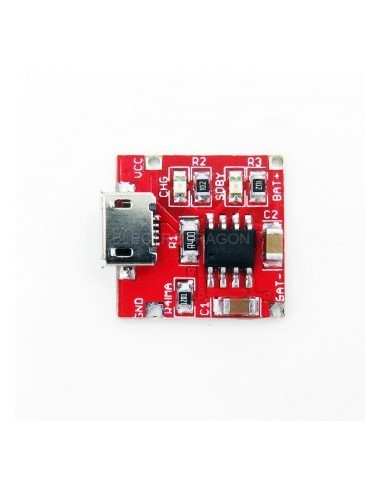 TP4056 Lithium Battery Charger Board R2, 1A