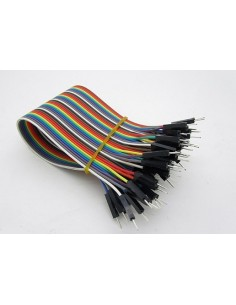Jumper Wires ( M - M ) - 40 Pin