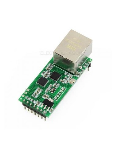 T24 Ethernet RJ45 TCP to Serial RS232 Module